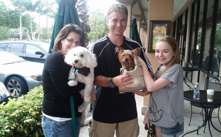 Another Happy Pet Adoption in Delray Beach